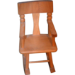 Vintage Doll Rocking Chair Strombecker Wood