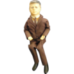 Vintage 1963 JFK John F. Kennedy Doll Mechanism Doll Political