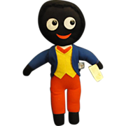 SALE Nisbet Golly Wog Golliwog Black Cloth Doll English