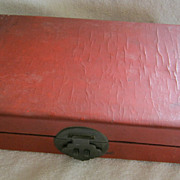 SALE Chinese Document Box