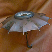 SALE Turn of the Century Umbrella Clock