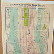 SALE New Map of New York City
