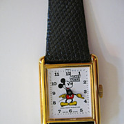 SALE Mickey Mouse Wrist Watch, Commemorative Edition