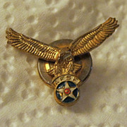 SALE WWII American Flying Services Foundation (A.F.S.F.) Pin