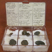 SALE Antique Revolutionary War Era Buttons Found in New York