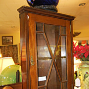 SOLD Gillows of Lancaster Corner Cabinet