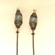 Pair of 19th Century Chinese Jade Hairpins