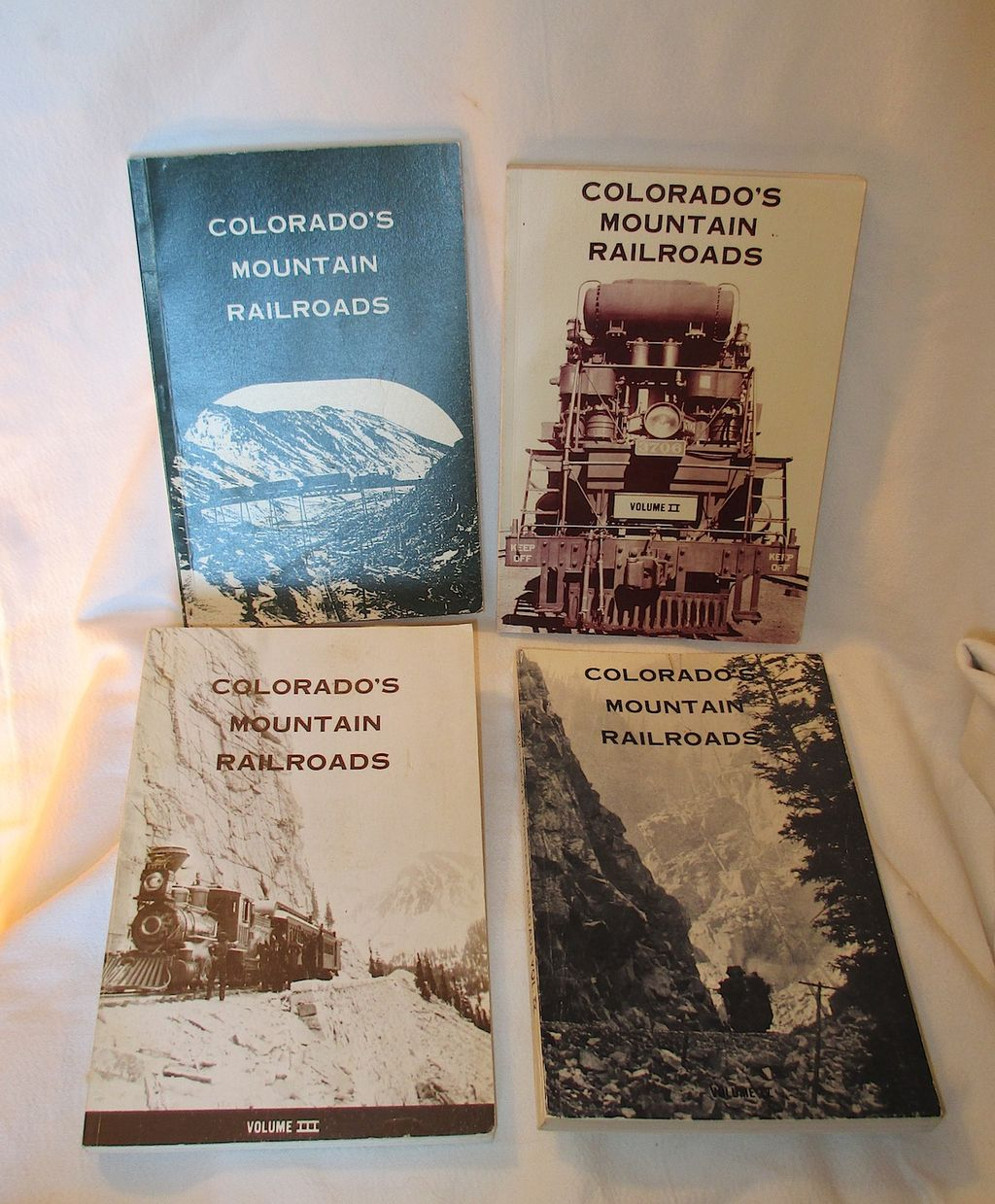 Colorado Railroad Books - collection of 5 books