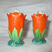 Salt and Pepper Shakers with Bees, Vintage