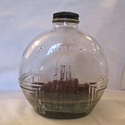 Ship In A 1933 Century of Progress Bottle