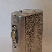 EVEREADY Silver Plated Flashlight, circa 1912