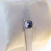 SALE 18k Diamond Carl Bucherer Ladies Watch - Vintage