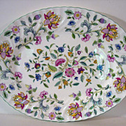 Minton Haddon Hall Large Serving Platter, 1949