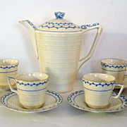 Crown Ducal English Demitasse Set