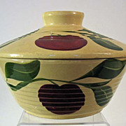 Watt Pottery Large Covered Bowl