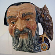 Small Royal Doulton Character Jug, Merlin