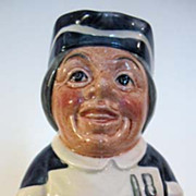 Royal Doulton Toby Jug, Miss Nostrum the Nurse
