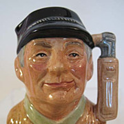 Royal Doulton Golfer Character Jug