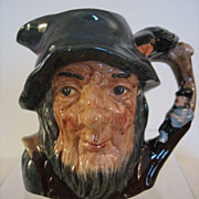 Royal Doulton Rip Van Winkle Character Jug