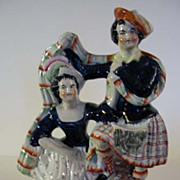 English Staffordshire Man and Woman