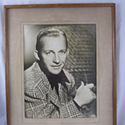 1943 Bing Crosby Autographed A.L. Schafer Photo Framed Paramount