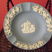 SALE Wedgwood Blue Jasperware Ashtray