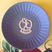 SALE Wedgwood Blue Jasperware Plate for 23rd Olympic Games in Los Angeles