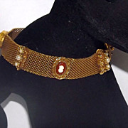 Lovely Vintage Goldette Gold Tone Bracelet