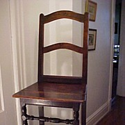 Early Side Chair Circa 1650-1700
