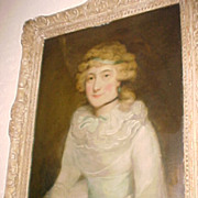 "Portrait  ""Lady Betty Bary""  School of George Romney  (1734-1802)"