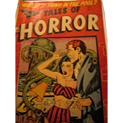 Superior Publishers Limited- Minoan Magazine- 1952  #2 Tales of Horror Magazine