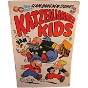 Harvey Comic 1952 #22 KatzenJammer Kids