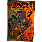 Wings Comics-Captain Wings &quot;Taps for Tokyo&quot; #64 1945