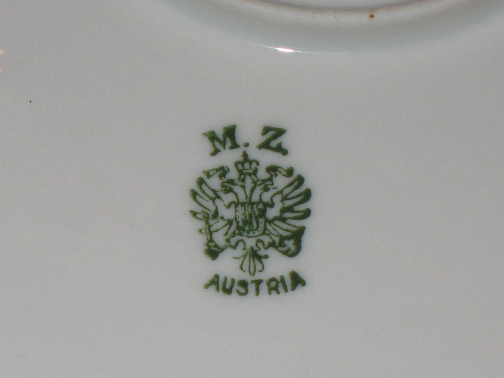 Moritz Zdekauer Austrian Plate From Oldisgoldrl On Ruby Lane
