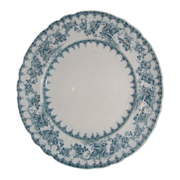 Royal Staffordshire Pottery serving plate-Blue and White