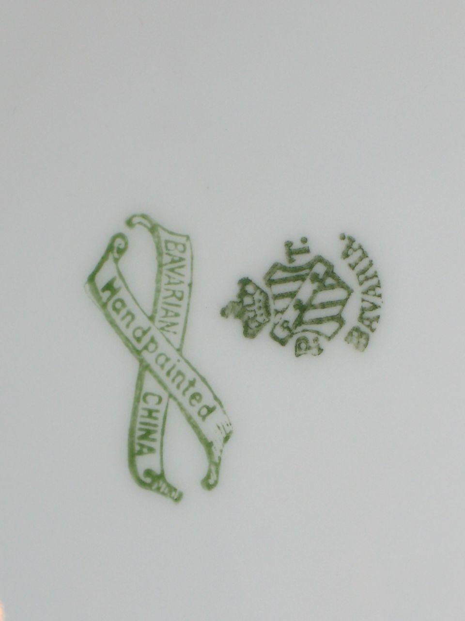 Hand Painted Bavarian China Sevres