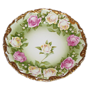 Philip Rosenthal & Co.  Dish Bavaria    Roses galore