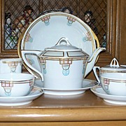 Haviland Limoges Deco  Set : C T Altwasser, Silesia,Favorite Bavaria,France ca. 1920