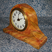 Faux  Marble  Mantel  Clock  Winsted, Connecticut  USA