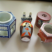 Six  Japanese & Chinese  Porcelain Items