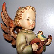 Hummel Angel with Mandolin  TMK4  #172  8""