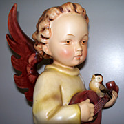 Hummel  Angel with Mandolin  TK2  Full Bee   #172      11 ""