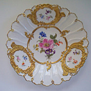 Antique Meissen Cabinet Plate