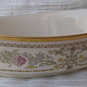 Lenox Castle Garden 10&quot; Oval Vegetable Bowl