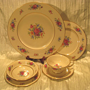 Lenox Rose By Lenox China (Pattern J300) 6-Piece Place Setting