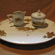 Rosenthal Gilded Porcelain Service Set (circa early 1900s)