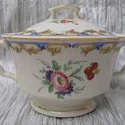 Syracuse Lady Louise Sugar Bowl with Lid