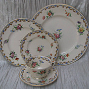 Syracuse Lady Louise 5-Piece Place Setting