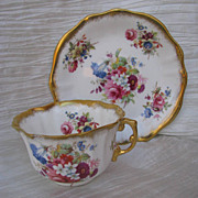 Hammersley Lady Patricia Bone China Cup and Saucer
