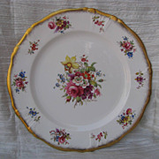 Hammersley Lady Patricia Bone Dinner Plate